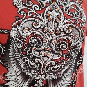 Liberty Wear Tops - Liberty Wear embellished tee